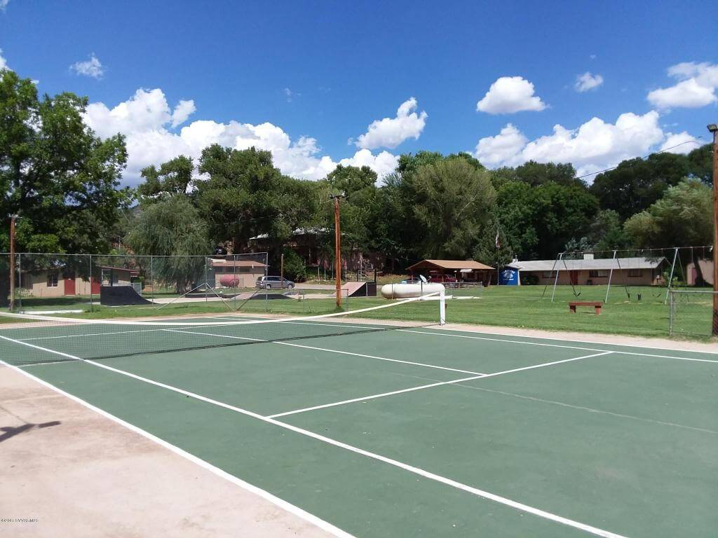 Tennis Court at Willow Point